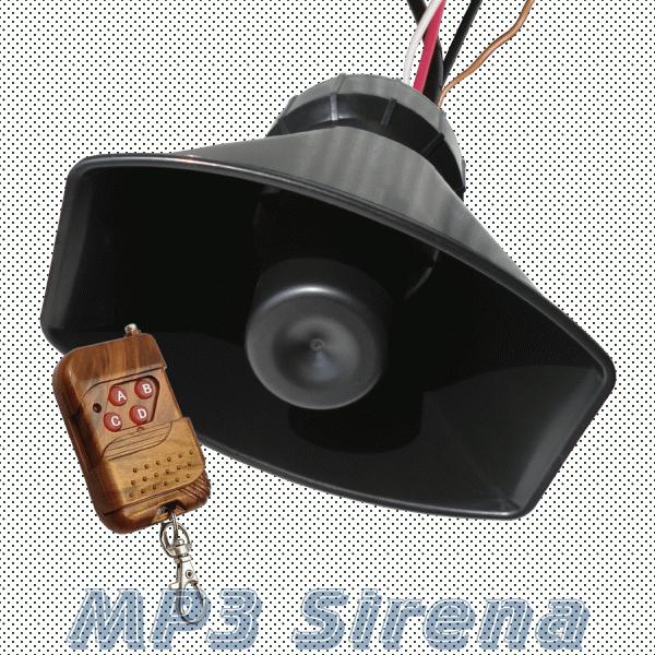Музыкальный сигнал MP3 для авто