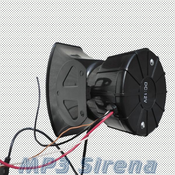 Рупор звукового сигнала MP3
