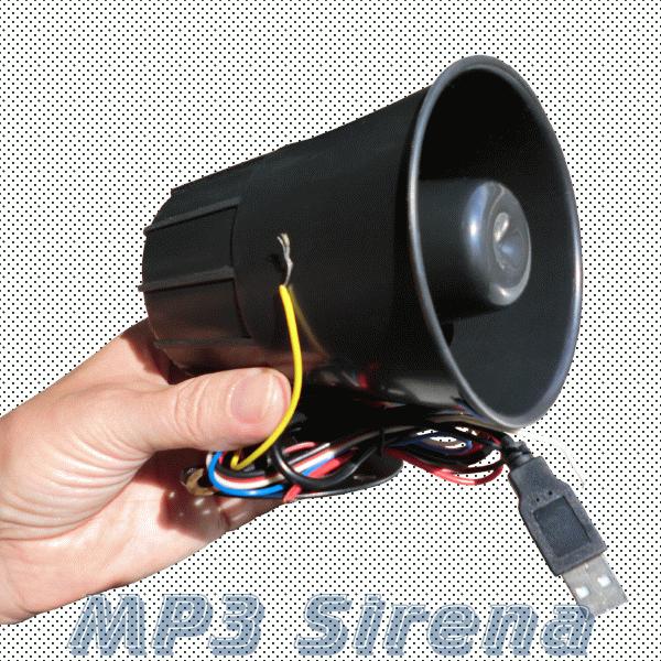 Говорящая сигнализация MP3